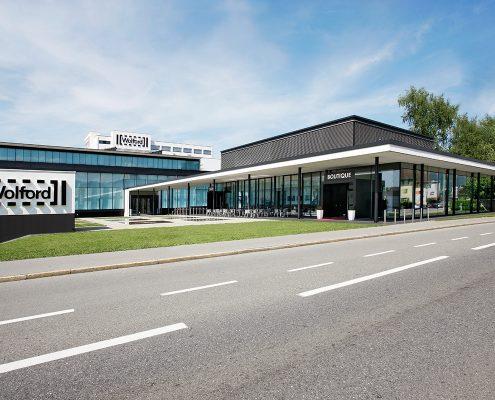 Wolford Unternehmenszentrale, Bregenz © Wolford